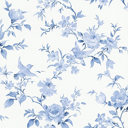 dutch-wallcoverings-7486-5-flower-tapete-blau-weiss