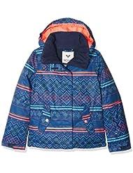Roxy JERGTJ03033, Chaqueta de Nieve Para Niñas, Multicolor (Sodalite Blue Pattern_4), 14/XL