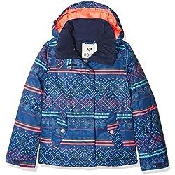Roxy JERGTJ03033, Chaqueta de Nieve Para Niñas, Multicolor (Sodalite Blue Pattern_4), 16/XXL