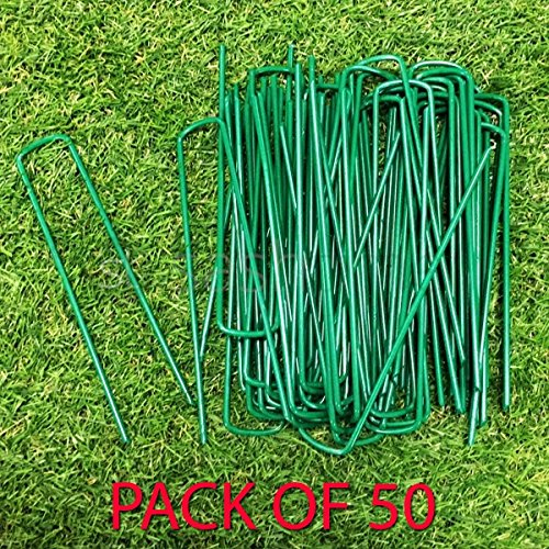 Kunstrasen Garden Heftklammern verzinkt Pins 150/mm x 30/mm x 150/mm abgeschr/ägten Ende Pack 50