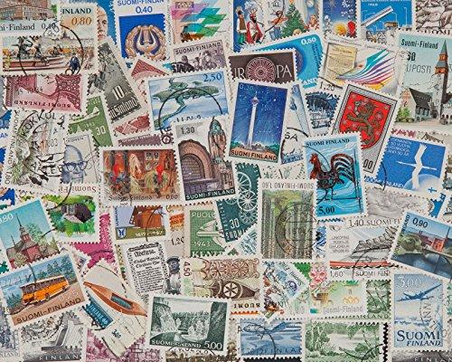 Goldhahn 100 Finnland Sondermarken Briefmarken für Sammler