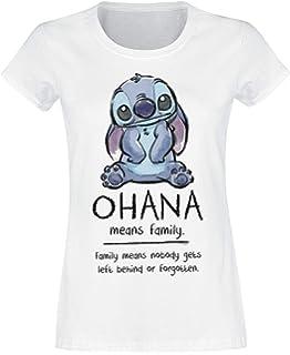 Divertente Humor Made in Italy L - Ohana E S Social Crazy Felpa Donna Girocollo Basic Top qualit/à Top vestibilit/à