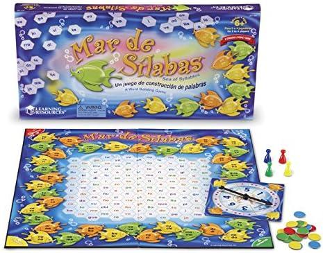 ressources d'apprentissage Syllables) MAR de Sílabas (mer de jeu Syllables) d'apprentissage B000EGAMQC b974fc