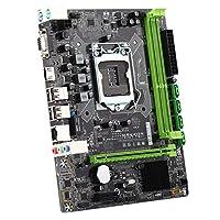 KKmoon MAXSUN ms-h61 X L m.2 Motherboard für Computer Gaming Mainboard für Intel H61 LGA 1155 Socket DDR3 mATX