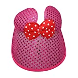 Minnie Mouse Dark Pink Girl's Sun Hat Ha...