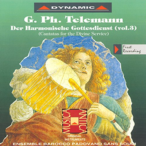 Telemann: Harmonischer Gottes-Dienst (Der), Vol. 3 de Janet ...