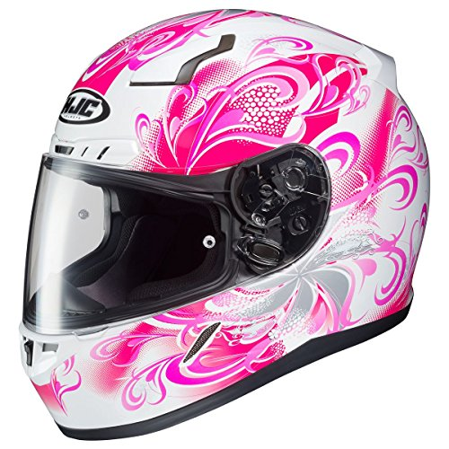 HJC Helmets Small : HJC Cosmos Womens CL-17 Street Bike Motorcycle Helmet - MC-8 / Small