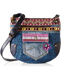 Desigual Bols Brooklyn Exotic Jeans Across Body Bag Umhängetasche