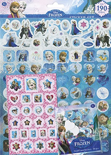 Set 190 Pegatinas Frozen
