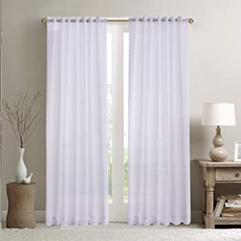 10 Metres White Weighted Curtain Voile 300cm Wide FLAME RETARDANT