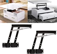 NF&E Lift Up Top Coffee Table DIY Hardware Fitting Suppor Frame Furniture Hinge