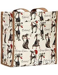 Bolso tapiz Shopper de moda Signare para mujer bolso de hombro animal