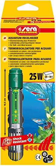 SeraAquariumHeater Thermostats - 25W - Fish Aquarium
