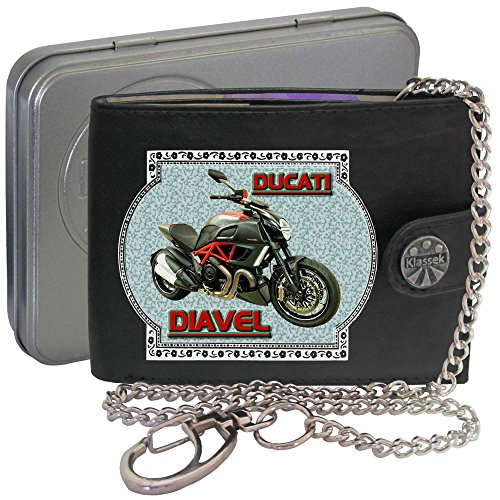 ducati-diavel-klassek-portefeuille-homme-avec-chaine-porte-monnaie-moto-cadeau-accessoires-bike-chai