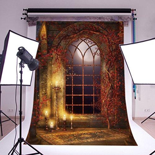 Fotostudio Hintergrund aus Vinyl, dünn, Halloween, Foto Requisite CP Photo TH122 (Foto Hintergrund Halloween)