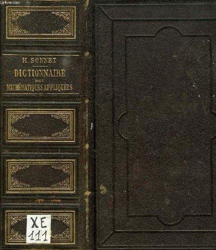 Dictionnaire des mathematiques appliquees