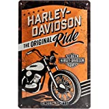 Nostalgic-Art 22237 Harley-Davidson - The Original Ride, Blechschild 20x30 cm