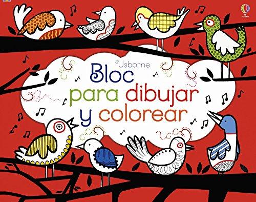 Bloc Para Dibujar Y Colorear