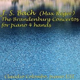 Brandenburg Concerto No. 4 in G Major, BWV 1049, for Piano Four Hands: I. Allegro