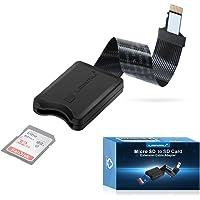 LANMU Micro SD auf SD Verlängerung, TF auf SD Karte Verlängerungskabel Adapter Extension Kabel kompatibel mit Monoprice…