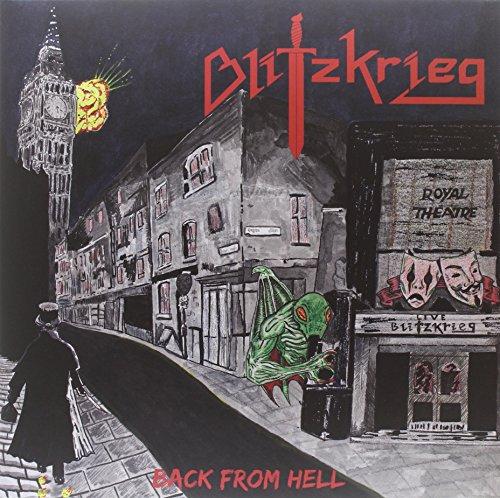 Blitzkrieg: Back from Hell (Double Transparent Red Vinyl) [Vinyl LP] (Vinyl)