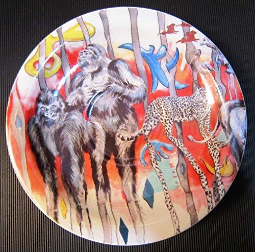 Safari rot Unterteller Kaffee / Mini Teller 16 cm Coffee saucer / Mini plate 6 1/4 in. Soucoupe à café / Assiette Mini 16 cm Sottotazza da caffè / Piatto Mini 16 cm (Dum Dum Baum)