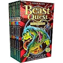 Beast Quest Pack: Series 7, 6 books, RRP £29.94 (37 Convol, 38 Hellion, 39 Krestor, 40 Madara, 41 Ellik, 42 Carnivora).