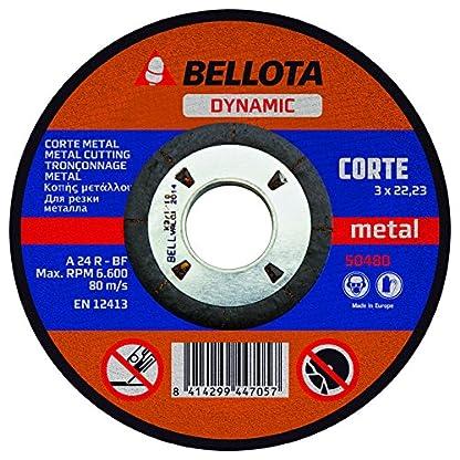 Bellota 50480-230 – DISCO ABR. DYN. C. METAL 230