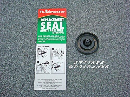 Fluidmaster, Dichtungsring Membran 242MP071Ersatzteil für Spülkasten Schwimmerventil/Füllventil von Fluidmaster