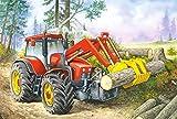 Unbekannt 1 Stück: Mini - Puzzle 24 Teile - Fahrzeuge & Traktoren - Castorland Auto Baustelle Kinder Kinderpuzzle Minipuzzle Minipuzzles - Mitgebsel / Preis für Kindergeburtstag - Jungen
