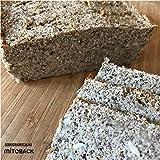 Backmischung I Low-Carb I Kartoffel-Leinsamen Brot 171 g I Glutenfrei I Zuckerfrei I Hefefrei I Ohne Getreide I Hergestellt in Deutschland