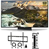 Sony XBR-65Z9D - 65-inch 4K Ultra HD LED TV w/ Flat Wall Mount Ultimate Bundle includes TV, Flat Wall Mount Ultimate Kit and 6 Outlet Home and Office Power Strip with Dual USB Ports