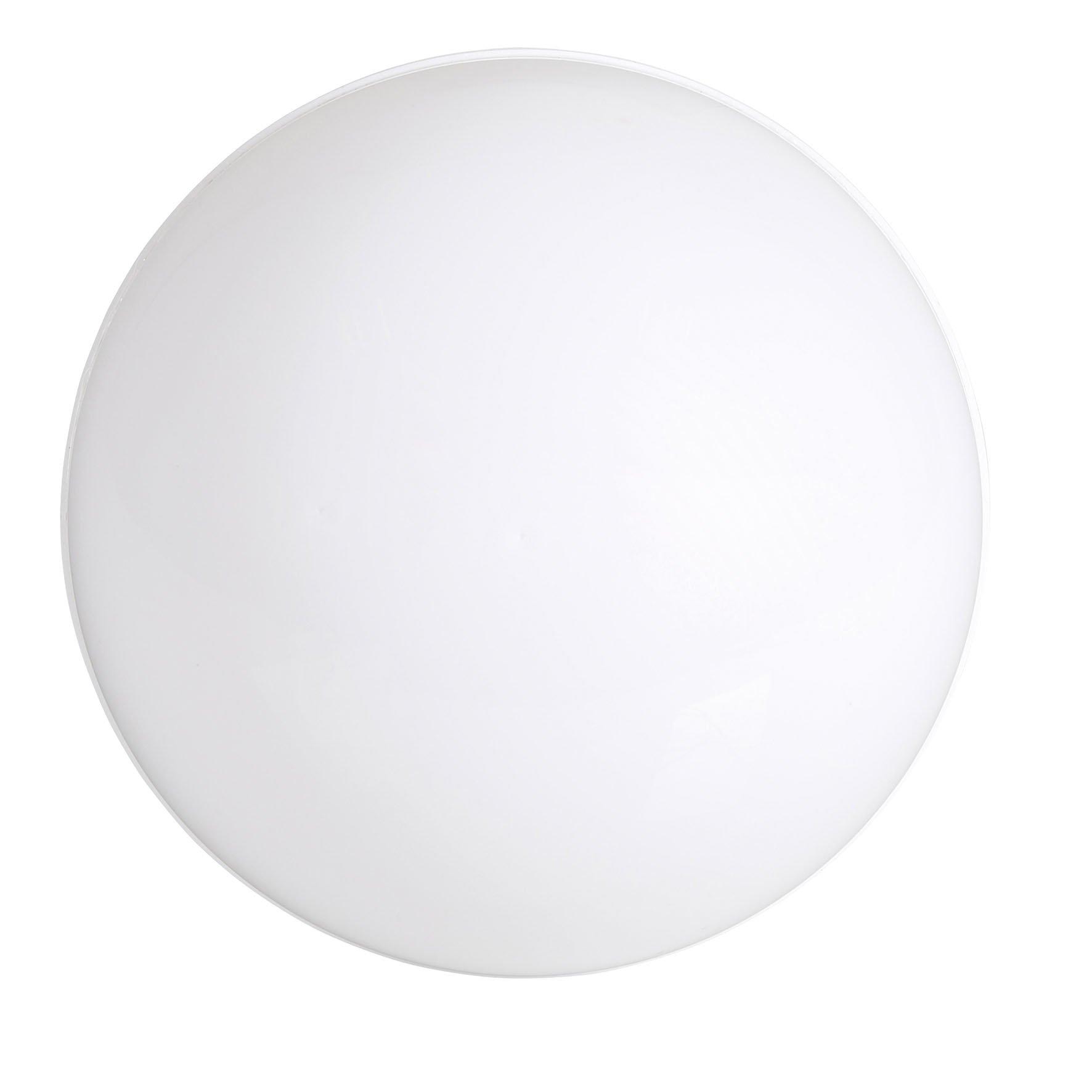 Cogex 403626-Lampada a energia solare, a forma di mezza-luna, in plastica, colore: bianco