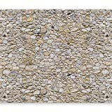 murando - Fototapete Steinoptik 400x280 cm - Vlies Tapete - Moderne Wanddeko - Design Tapete - Wandtapete - Wand Dekoration - Steintapete Steine Stein Mauer Steinoptik 3D f-B-0001-a-a