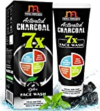 #4: Man Arden 7X Activated Charcoal Face Wash - 100ml - Skin Whitening Vitamin C, Icy Cool Menthol & Charcoal Scrubbers