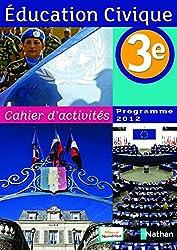 Cahier d'activités éducation civique 3e