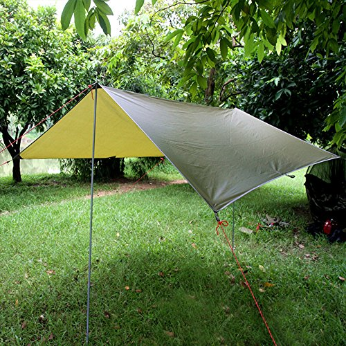 Cymall Tent Tarps Lightweight Waterproof ... & Cymall Tent Tarps Lightweight Waterproof RipStop Tarp Backpacking ...