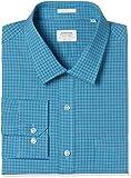 Arrow Men's Checkered Slim Fit Cotton Formal Shirt (AFVSH0246_40FS_Me. Green)
