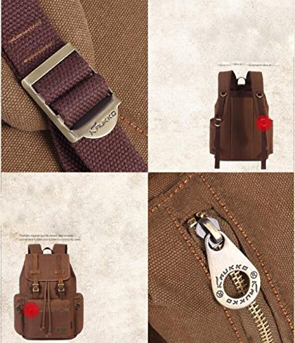 Männer Casual Tasche Student Rucksack Im Freien Bergsteigen Taschen- A1
