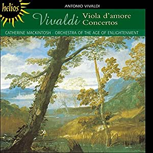Vivaldi: Viola d'amore concertos by Catherine Mackintosh, Orchestra of the Age of Enlightenment (2004) Audio CD