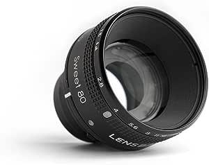 Lensbaby Sweet 80 Optikeinsatz Für Das Lensbaby Optic Kamera