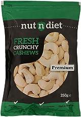 nutndiet Fresh Crunchy Cashews Premium (250g)