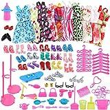 Wenttady Fsahion 1 Satz Barbie Puppe Kleidung viel billige Puppe Zubehör Barbie Puppe handgemachte Kleidung
