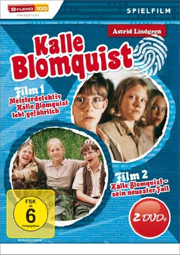 Bild von Astrid Lindgren: Kalle Blomquist: Kalle Blomquist lebt gefährlich / Kalle Blomquist ... [2 DVDs]