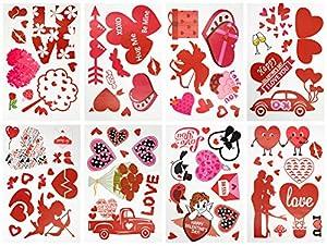 SHYOSUCCE Pegatinas de San Valentín,