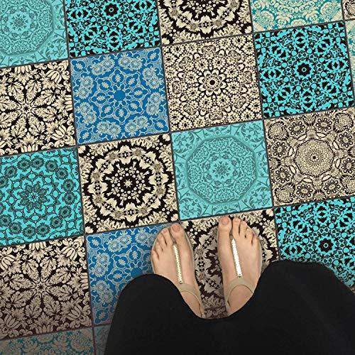 Fliesenaufkleber   Fliesen Für Boden | Aufkleber Folie Sticker Für Boden  Fliesen   Küche Oder Bad | Fliesenfolie Als Alternative Zu Fliesenfarbe |  10x10 Cm ...