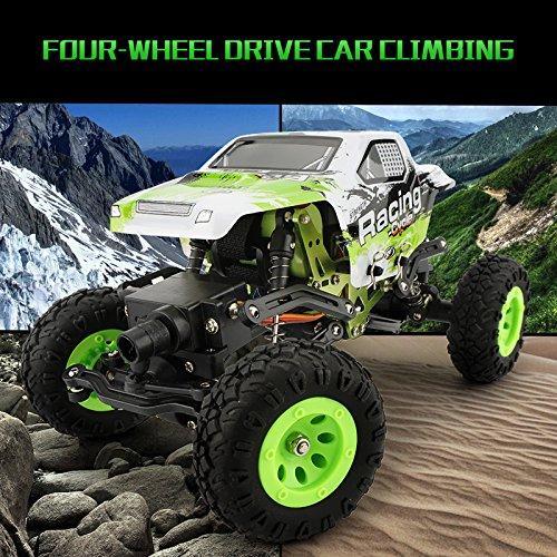 1:24 Skala RC Rennwagen 2.4G Hochgeschwindigkeits-4WD Elektrischer Energie-Buggy weg vom Straßen-Auto - 3