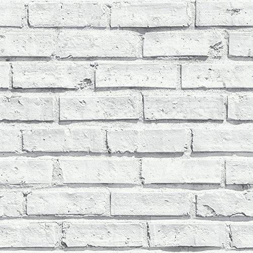Arthouse Papel Pintado (53 x 10,05 m), Color Blanco