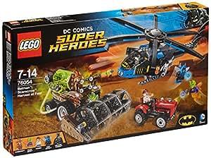 LEGO 76054 DC Comics Super Heroes Batman Scarecrow Harvest of Fear Superhero Toy