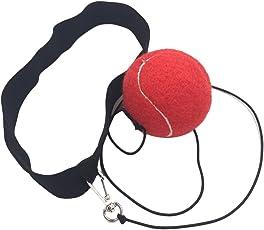 Boxing Speed Ball mit Kopfband Reaktion Training Boxkampf Ball für Reflex Speed Training Boxen MMA Kickboxing Punch Übung